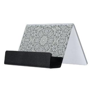 Caja Para Tarjetas De Visita Tenedor blanco de la tarjeta de visita del