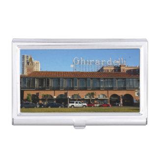 Caja Para Tarjetas De Visita Tenedor cuadrado de la tarjeta de visita de SF