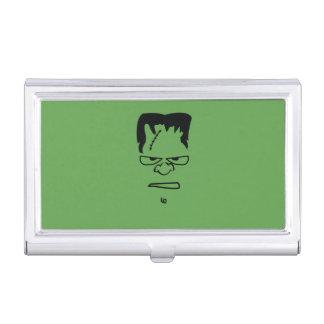 Caja Para Tarjetas De Visita Tenedor de la tarjeta de visita de Frankenstein