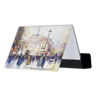 Caja Para Tarjetas De Visita Tenedor de la tarjeta de visita del arte de la