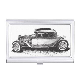 Caja Para Tarjetas De Visita Tenedor de la tarjeta de visita del coche de