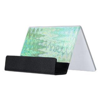 Caja Para Tarjetas De Visita Tenedor de la tarjeta de visita del escritorio de