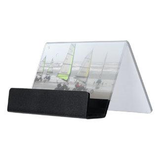 Caja Para Tarjetas De Visita Tenedor de la tarjeta de visita del escritorio del