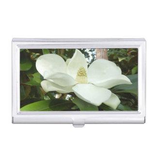 Caja Para Tarjetas De Visita Tenedor grandiflora de la tarjeta de visita de la