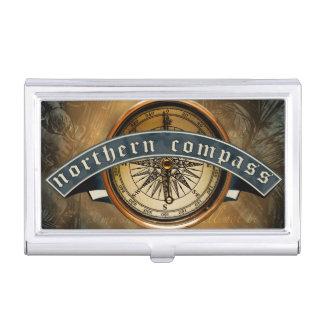 Caja Para Tarjetas De Visita Tenedor septentrional de la tarjeta de visita del