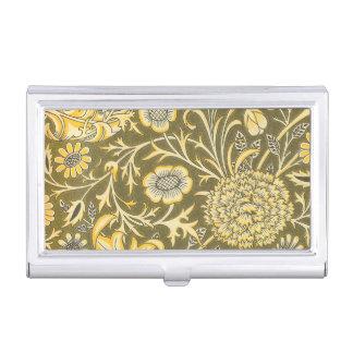 Caja Para Tarjetas De Visita William Morris el diseño de Cherwell para la pana