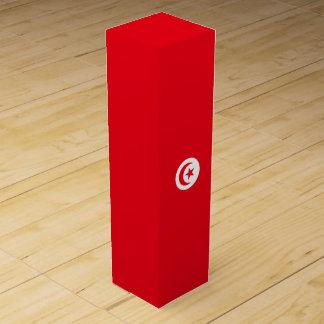 Caja Para Vino Bandera de Túnez
