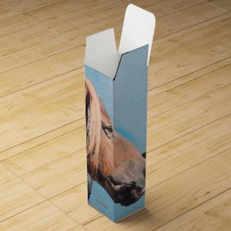Caja Para Vino Caballos/Cabalos/Horses