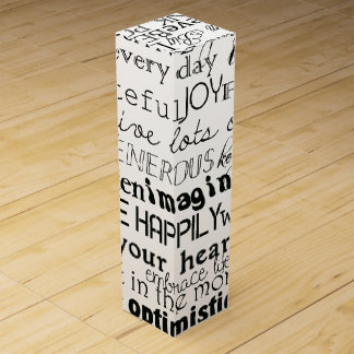 Caja Para Vino Inspirado