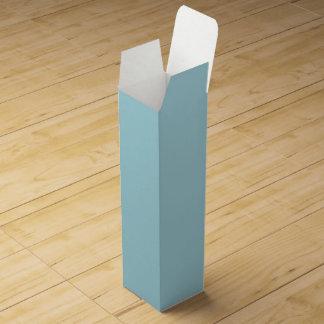 Caja Para Vino Liga azul - diseñador de la parte alta del chica