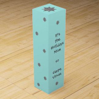 Caja Para Vino Mamá de Carpe Vinum
