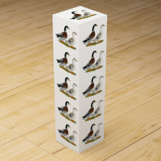 Caja Para Vino Patos:  Appleyard de plata