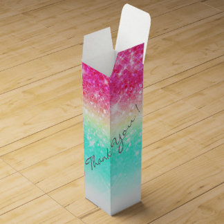 Caja Para Vino Trullo ID433 del rosa de la pendiente del