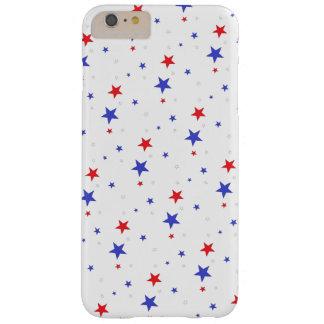 Caja patriótica del teléfono celular de las funda barely there iPhone 6 plus