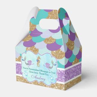 Caja personalizada del favor de la fiesta de