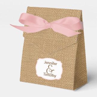 Caja personalizada del favor de la tienda de la caja para regalo de boda