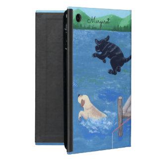 Caja personalizada del ipad de Labradors de la iPad Mini Cárcasa