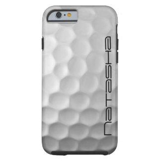 Caja personalizada del iPhone 6 de la pelota de Funda De iPhone 6 Tough