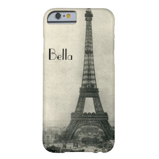 Caja personalizada del iPhone 6 de París de la Funda De iPhone 6 Barely There