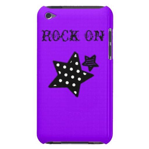 Caja punky de la estrella barely there iPod carcasas