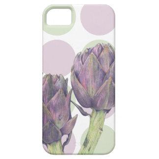 Caja púrpura de Barely There ID/Card de las iPhone 5 Case-Mate Carcasas
