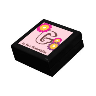Caja púrpura de la baratija de la flor de la MOD d Caja De Regalo