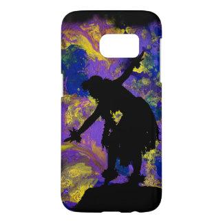 Caja púrpura de la galaxia S7 de Samsung del Funda Samsung Galaxy S7