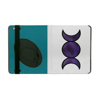 Caja púrpura del iPad de la diosa, color de Funda Para iPad