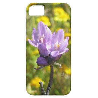 Caja púrpura del iPhoneSE de la flor Funda Para iPhone SE/5/5s