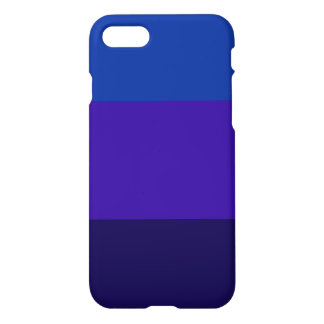 Caja púrpura y azul de Iphone 7 del diseño del Funda Para iPhone 7