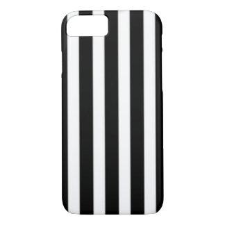 Caja rayada blanco y negro funda iPhone 7