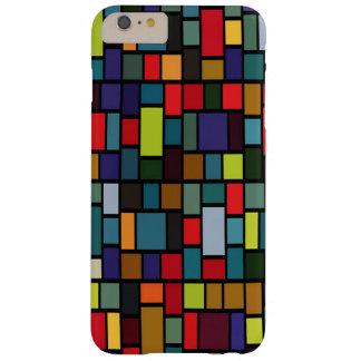 caja rectangular colorida del iPhone 6 del modelo Funda Barely There iPhone 6 Plus