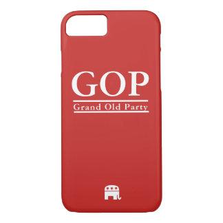 Caja republicana del teléfono del GOP Funda iPhone 7