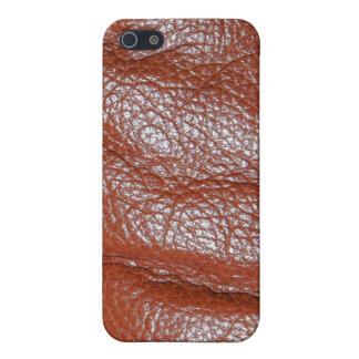 Caja rica de la mota del iPhone de la textura de l iPhone 5 Carcasas