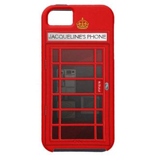 Caja roja conocida personalizada del iPhone 5 de iPhone 5 Case-Mate Carcasas