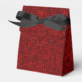 Caja roja del favor del pixel diez