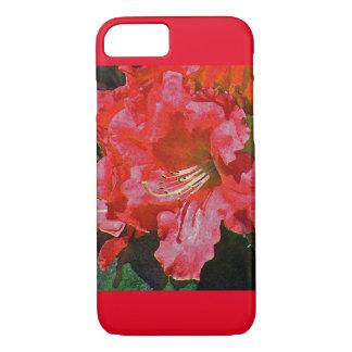 Caja roja del iPhone 7 de la azalea Funda iPhone 7