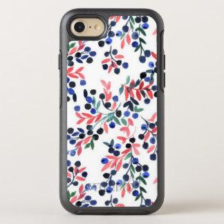 Caja rosada/azul linda de OtterBox del iPhone del Funda OtterBox Symmetry Para iPhone 8/7