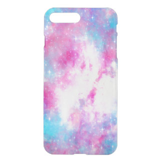 Caja rosada de la galaxia funda para iPhone 7 plus