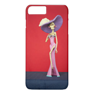 Caja rosada del teléfono de Catrina Funda iPhone 7 Plus