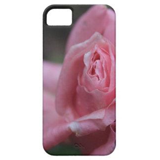 Caja rosada del teléfono de la flor iPhone 5 funda