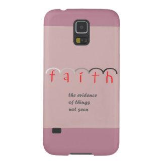 """Caja rosada femenina del teléfono de la """"fe"""" - carcasa galaxy s5"""