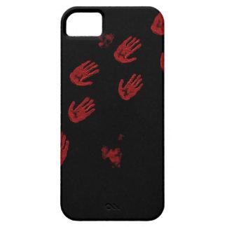 Caja sangrienta del teléfono de Handprint Funda Para iPhone SE/5/5s