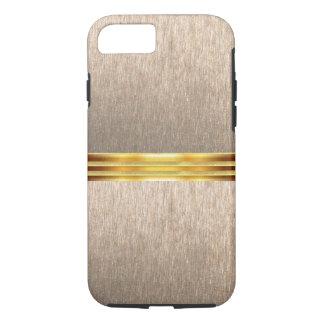 Caja texturizada metálica del iPhone de la clase Funda iPhone 7