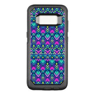 Caja tribal rosada púrpura linda de la galaxia S8 Funda Commuter De OtterBox Para Samsung Galaxy S8
