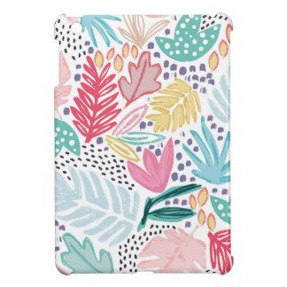 Caja tropical baja ligera del iPad del modelo del