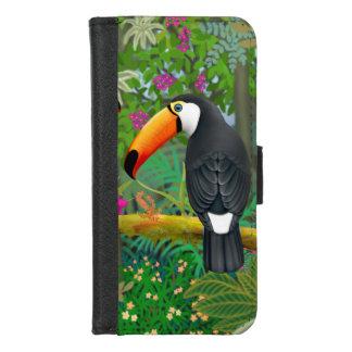Caja tropical de la cartera del iPhone de Toco