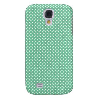 Caja verde de Iphone 3 del lunar de Peapod pequeña