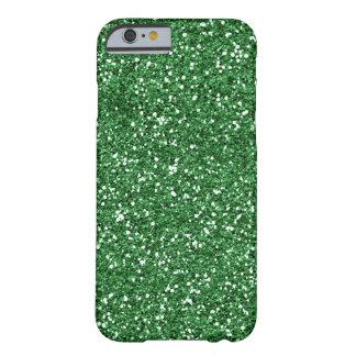 caja verde del iPhone 6 del brillo Funda De iPhone 6 Barely There