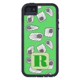 Caja verde inicial de encargo del teléfono iPhone 5 Case-Mate carcasa